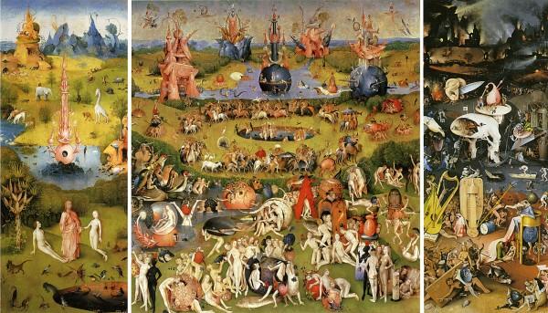 Bosch Jardin des délices 1504